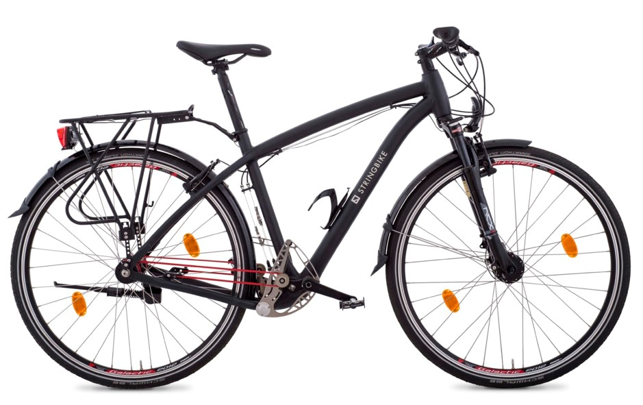 TREKKING BIKE -MEN- BLACK