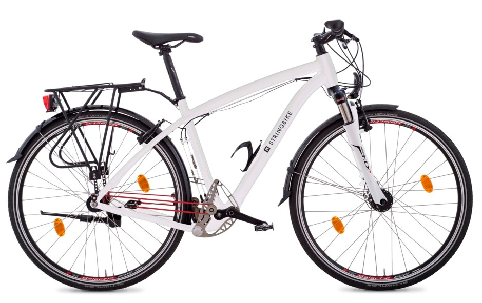 TREKKING BIKE -MEN- WHITE